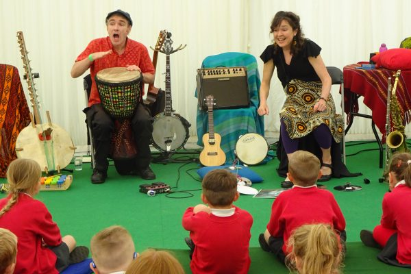 Mambo Jambo at Big Malarkey Children's Literature Festival Music and Storytelling