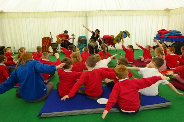 Mambo Jambo at Big Malarkey Childrens Literature Festival