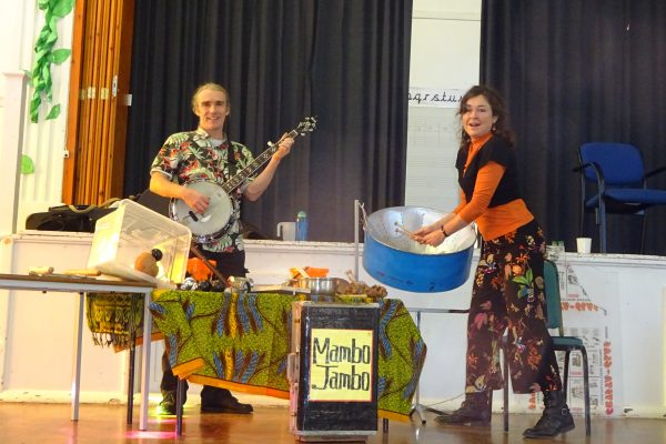 Mambo Jambo's Schools Recycling Musical Workshop