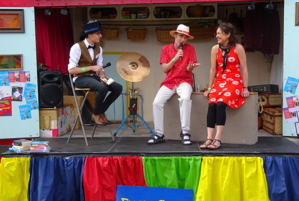 Mambo Jambo at Big Malarkey Children's Literature Festival