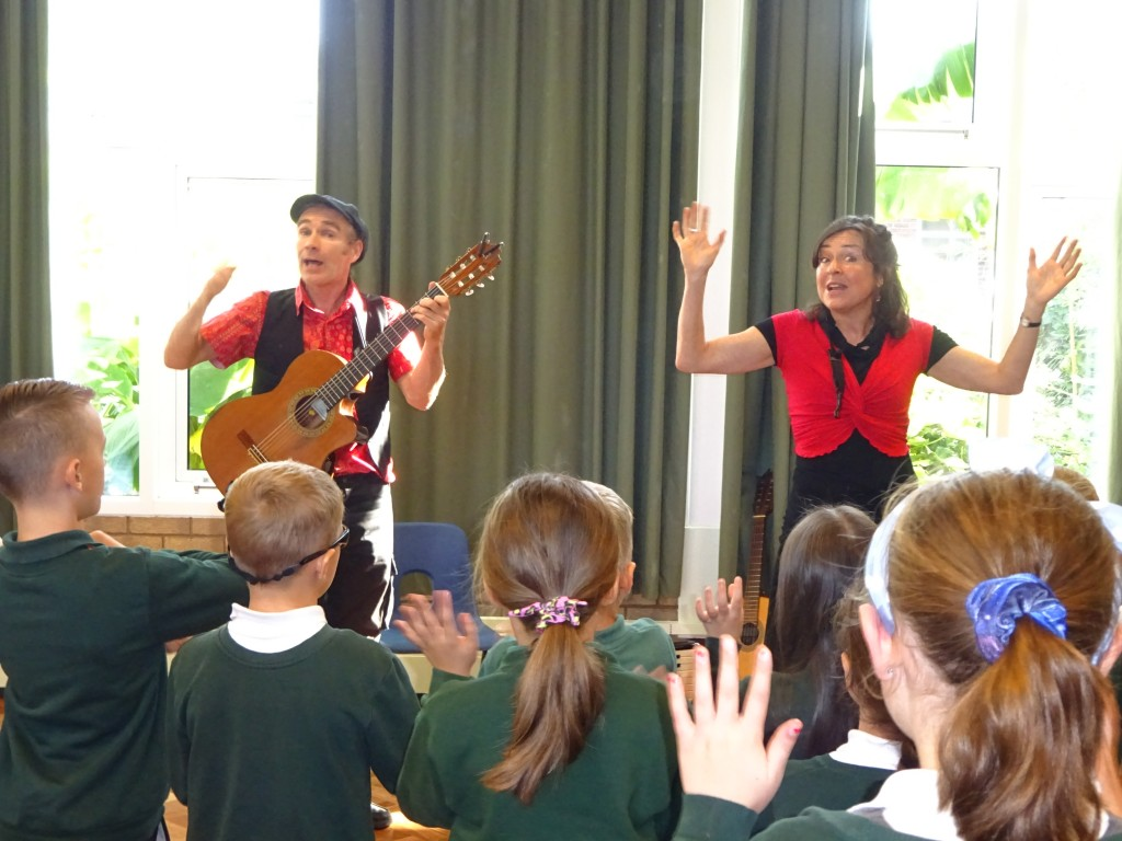 Flamenco Dance Workshop Primary school