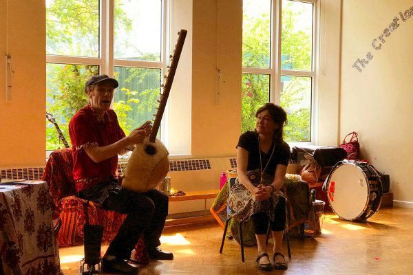 Handa's Surprise Mambo Jambo Schools music and storytelling workshop