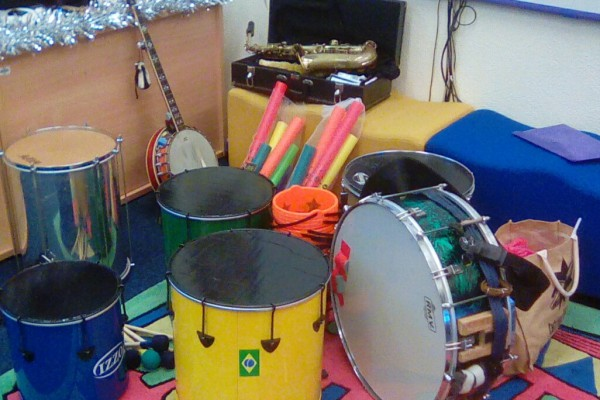 Mambo Jambo Music Drumming and Dance Workshops In Primary School