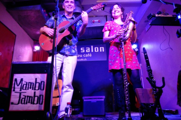Mambo Jambo Acoustic Roots Duo in concert