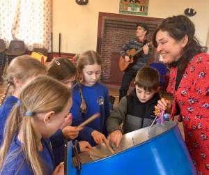 Mambo Jambo Primary School Music Workshops Steel Pan