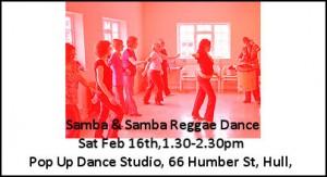 Samba Dance Workshop Pop Up studio Wide cworkshop_samba